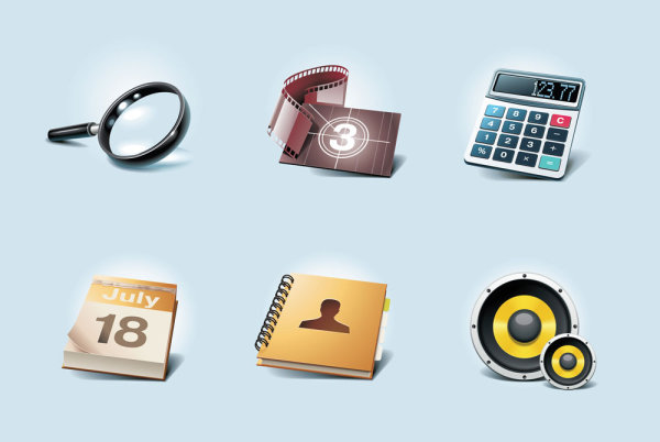 Common icons 02-- vector material