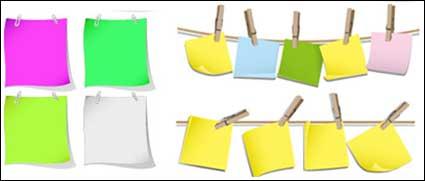 Color vector material scrap paper