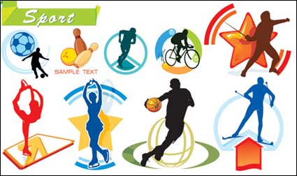 Sports Vector material