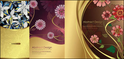 Traditional pattern background vector of material