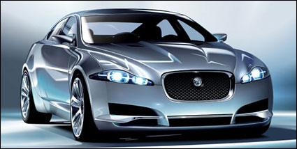 Jaguar-C-XF car Vector