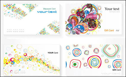 Card Templates - Vector