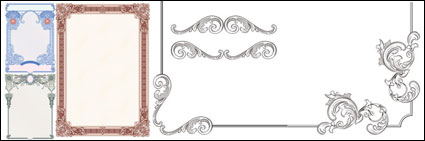 Classic European security border pattern -01