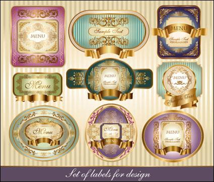 European classic pattern bottle marked --03