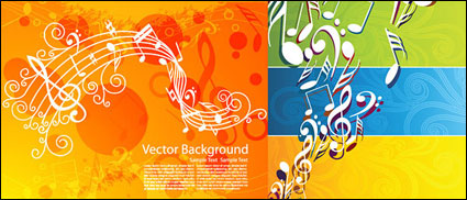 Vector musical theme