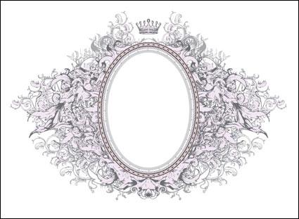 Gorgeous European-style frame - Vector