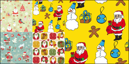 Lovely Santa Claus Wallpapers - Vector
