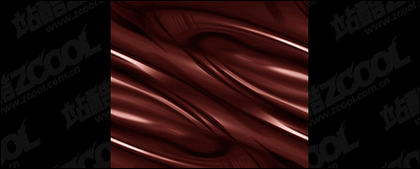 Dynamic picture quality chocolate background material