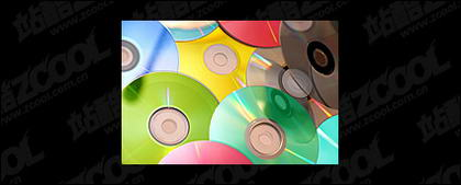 Color picture of the CD material