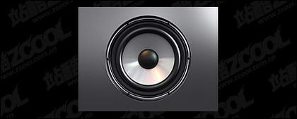 Stereo speakers picture material