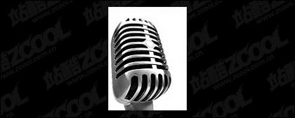 Featured microphone picture material