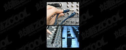 Recording console picture material