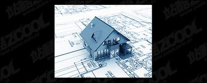 3D buildings and the floor plan -1