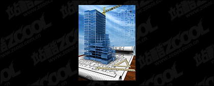 3D buildings and the floor plan -3