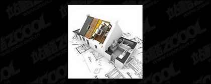 3D buildings and the floor plan -11