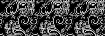 Vector traditional tiled background material-13