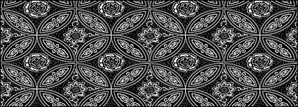Vector traditional tiled background material-15