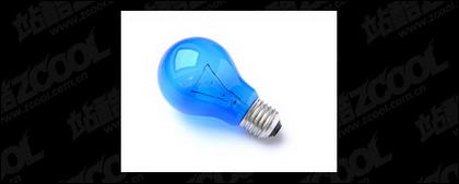 Blue light bulb picture quality material