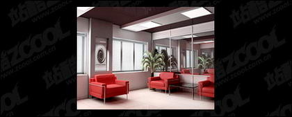 Office reception room boutique