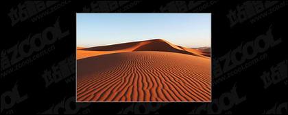 Desert picture material