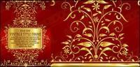 Wundersch�ne gold Lochmuster