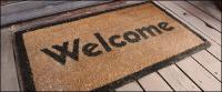 आपका स्वागत है कालीन चित्र सामग्री
