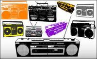 रेडियो वेक्टर सामग्री के विभिन्न प्रकार