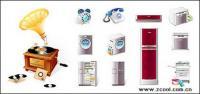 アイコンのベクター素材の家庭用電化製品を電話します。
