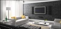 Schönes Haus interior Bild Material-2