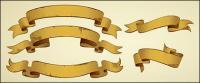 Material de práctica de nostalgia de vectores de cinta