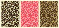 Multi-color leopard vector material