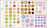 Más que una moda de material de vector de patrón circular