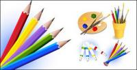 Vector drawing material supplies