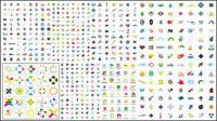 로고 템플릿 벡터 그래픽 자료의 수