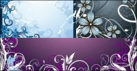 материал за рамка на цветята на мода