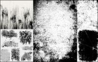 Efecto práctico de material de vectores de elemento de textura