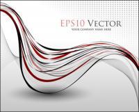 บรรทัดการเต้นรำ - Vector