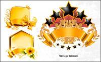Goldener Verzierung Vector Graphics