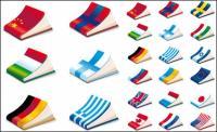 Bandera Nacional de la cubierta de portátil