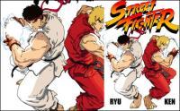 Archivo de origen de vector de Street Fighter