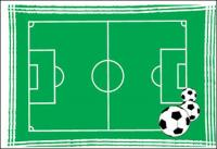 แผนการฟุตบอลของเวกเตอร์