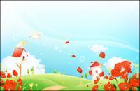 夢の花風景