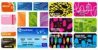 4 مجموعات من مواد مكافحة ناقلات قالب بطاقة تعريف المهنة