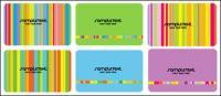 Modelos de cartão de cor