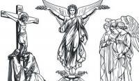 Material de vetor de Jesus Joan