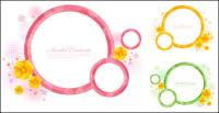 Material de Vector rede circular
