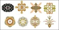 Material de vector de patrón de estilo chino