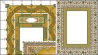 Rendas clássico requintado 4 padrões-4.