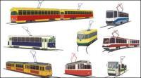 Stra�enbahn-Vektor