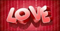 vecteur d'amour
